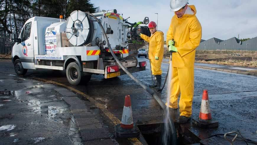 hydro jetting drain fix solutions